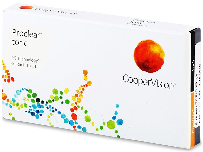 Proclear Toric XR (3lente) - Toric contact lenses