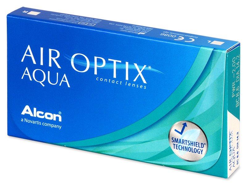 Air Optix Aqua (3lente) - Monthly contact lenses