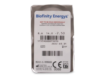 Biofinity Energys (6 lente) - Blister pack preview