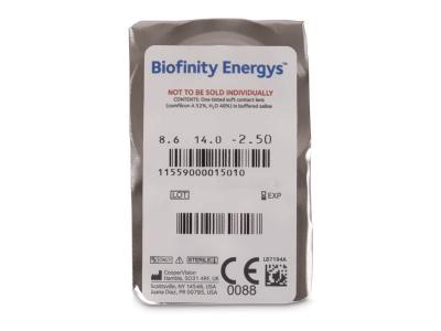 Biofinity Energys (6 lente) - Blister pack preview