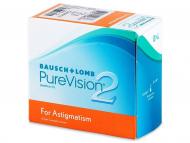 Lente kontakti Cilindrike - PureVision 2 For Astigmatism (6lente)