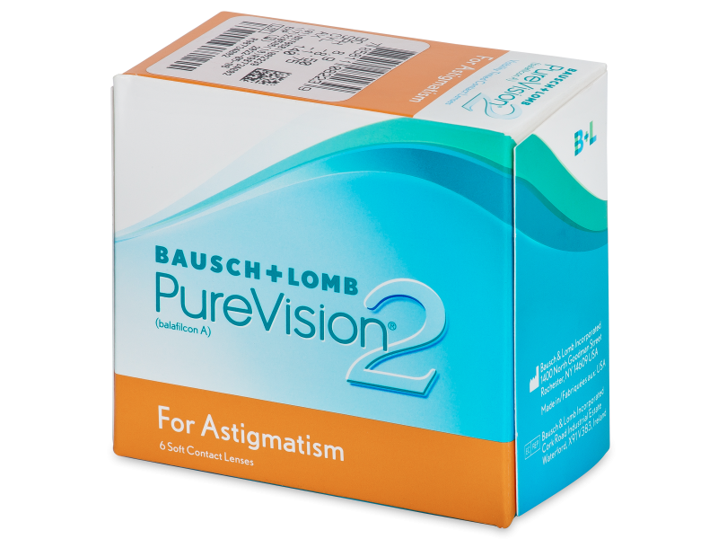 PureVision 2 For Astigmatism (6lente) - Toric contact lenses