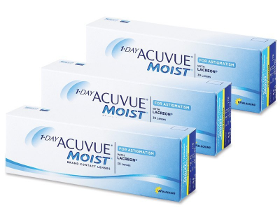 1 Day Acuvue Moist for Astigmatism (90 lente)