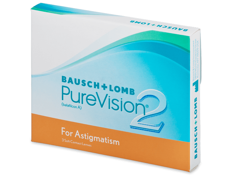 PureVision 2 for Astigmatism (3lente) - Toric contact lenses