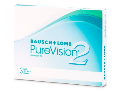 Monthly contact lenses - PureVision 2 (3lente)
