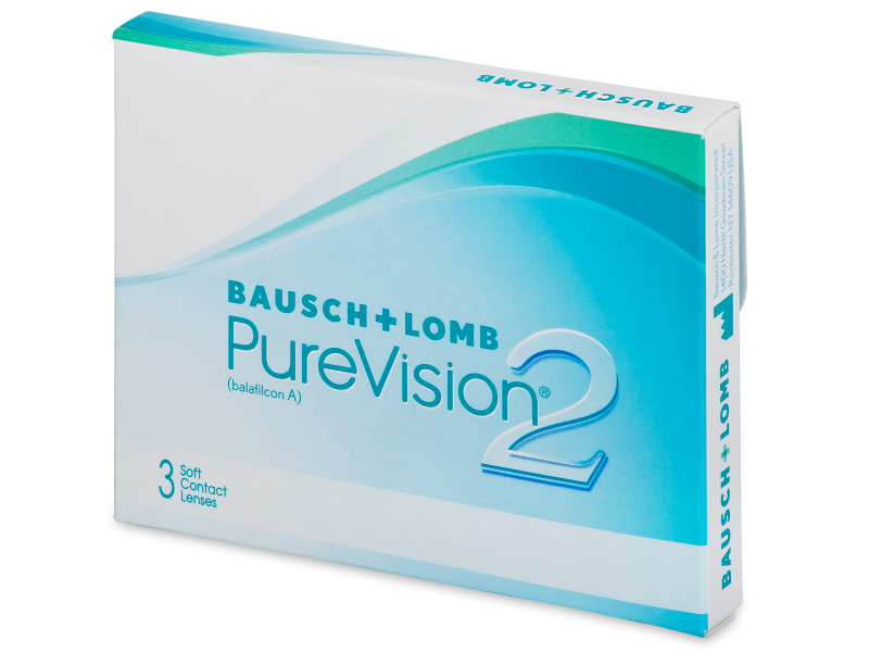 PureVision 2 (3 lente) - Monthly contact lenses