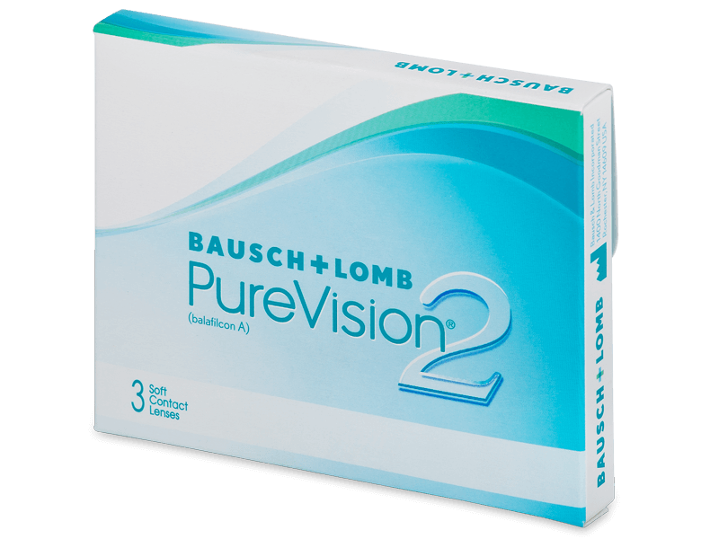 PureVision 2 (3lente) - Monthly contact lenses