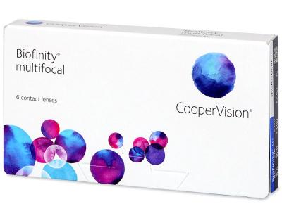 Biofinity Multifocal (6 lente) - Multifocal contact lenses