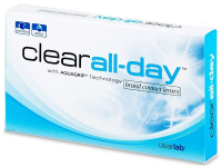 Clear All-Day (6 lente) - Monthly contact lenses