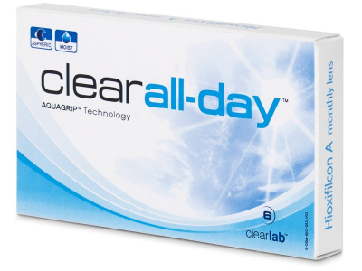 Monthly contact lenses - Clear All-Day (6 lente)
