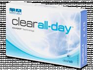 Lente kontakti Mujore - Clear All-Day (6lente)
