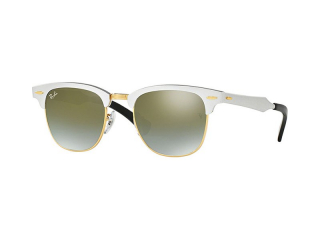 Syze Dielli Browline - Ray-Ban Clubmaster Aluminum RB3507 137/9J
