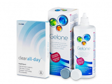 Clear All-Day (6lente) +GeloneSolucion 360ml