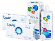 Lente Kontakti + Solucion - TopVue Bi-Weekly (6lente) +GeloneSolucion 360ml