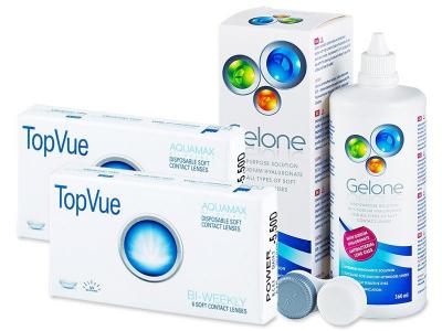 TopVue Bi-Weekly (6lente) +GeloneSolucion 360ml