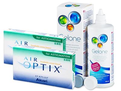 Air Optix for Astigmatism (2x3lente) +GeloneSolucion 360ml - Previous design