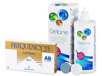 Frequency 55 Aspheric (6 lente) + Gelone Solucion 360 ml