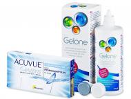 Johnson and Johnson Lente Kontakti - Acuvue Oasys for Astigmatism (6lente) +GeloneSolucion 360ml