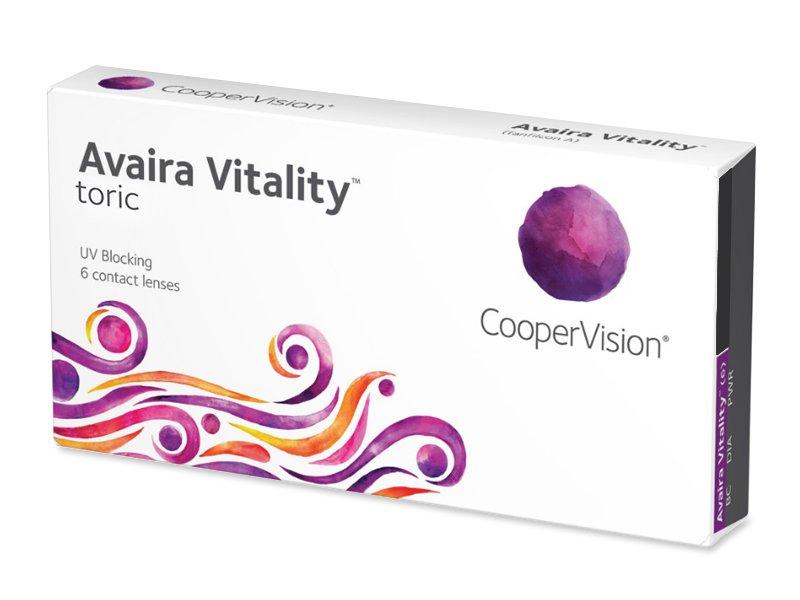 Avaira Vitality Toric (6 lenses) - Toric contact lenses