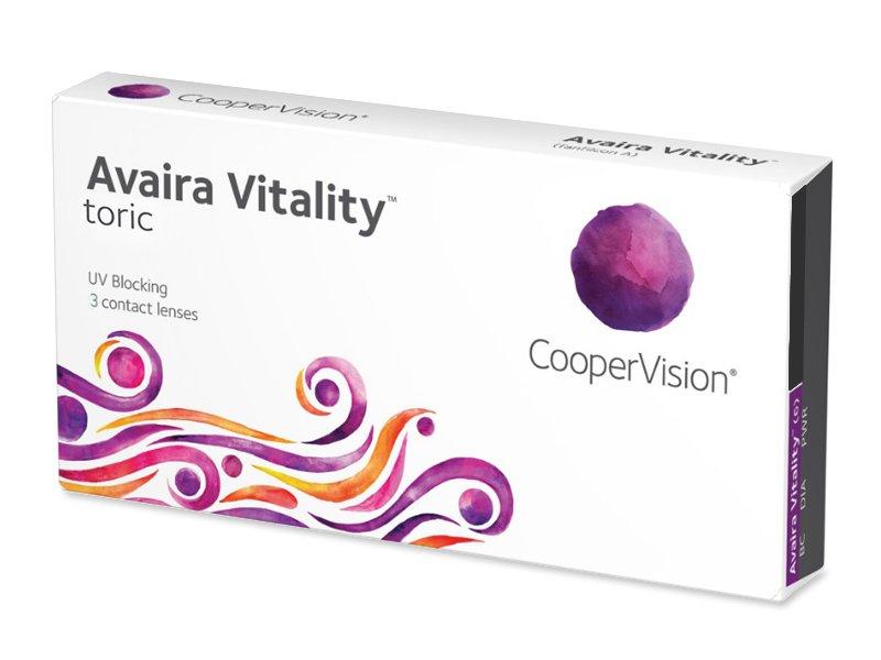 Avaira Vitality Toric (3 lenses) - Toric contact lenses