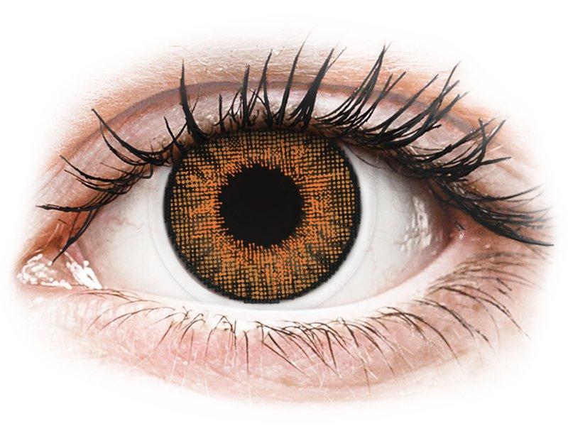 Air Optix Colors - Honey - Lente me Ngjyre & Optike (2lente)
