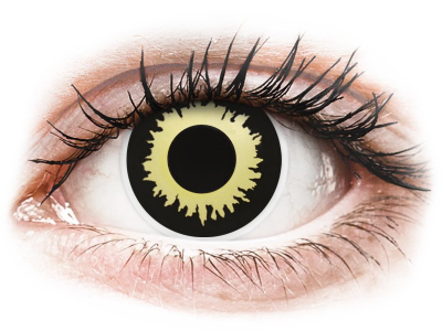 ColourVUE Crazy Lens - Eclipse - Lente me Ngjyre (2 lente)
