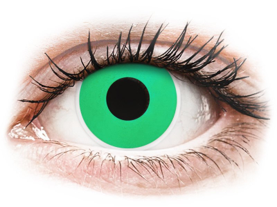 ColourVUE Crazy Lens - Emerald (Green) - Lente me Ngjyre (2 lente)