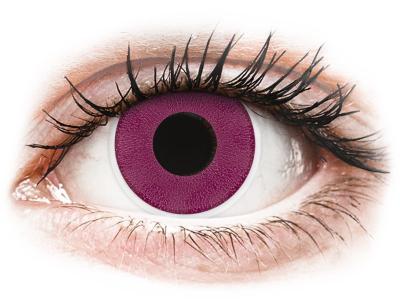 ColourVUE Crazy Lens - Purple - Lente me Ngjyre (2 lente)