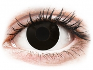 Lente me ngjyrë me numër - ColourVUE Crazy Lens - BlackOut - Lente me Ngjyre & Optike (2 lente)