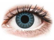Lente me ngjyrë me numër - ColourVUE Crazy Lens - Solar Blue - Lente me Ngjyre & Optike (2 lente)
