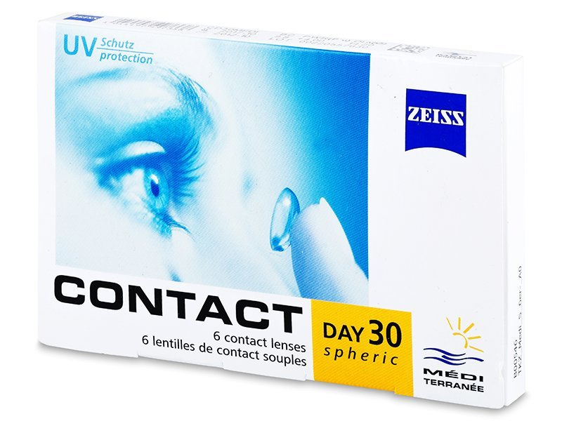 Carl Zeiss Contact Day 30 Spheric (6 lente) - Monthly contact lenses