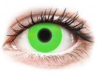 Lente me ngjyrë pa numër - ColourVUE Crazy Glow Green - Lente me Ngjyre (2lente)