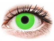 Lente kontakti Jeshile - jo optike - ColourVUE Crazy Glow Green - Lente me Ngjyre (2lente)