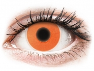Lente me ngjyra Special - jo optike - ColourVUE Crazy Glow Orange - Lente me Ngjyre (2 lente)