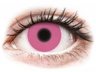 Maxvue Vision Lente kontakti - ColourVUE Crazy Glow Pink - Lente me Ngjyre (2lente)