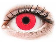 Maxvue Vision Lente kontakti - ColourVUE Crazy Glow Red - Lente me Ngjyre (2lente)