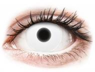 Maxvue Vision Lente kontakti - ColourVUE Crazy Glow White - Lente me Ngjyre (2lente)