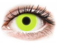Maxvue Vision Lente kontakti - ColourVUE Crazy Glow Yellow - Lente me Ngjyre (2lente)