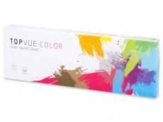 TopVue Color daily - Blue - Lente me Ngjyre & Optike (10lente)