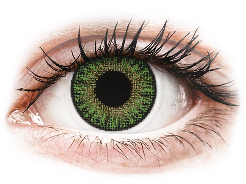 TopVue Color daily - Green - Lente me Ngjyre & Optike (10lente) - Coloured contact lenses