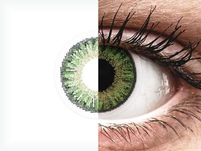 TopVue Color daily - Green - Lente me Ngjyre & Optike (10lente)