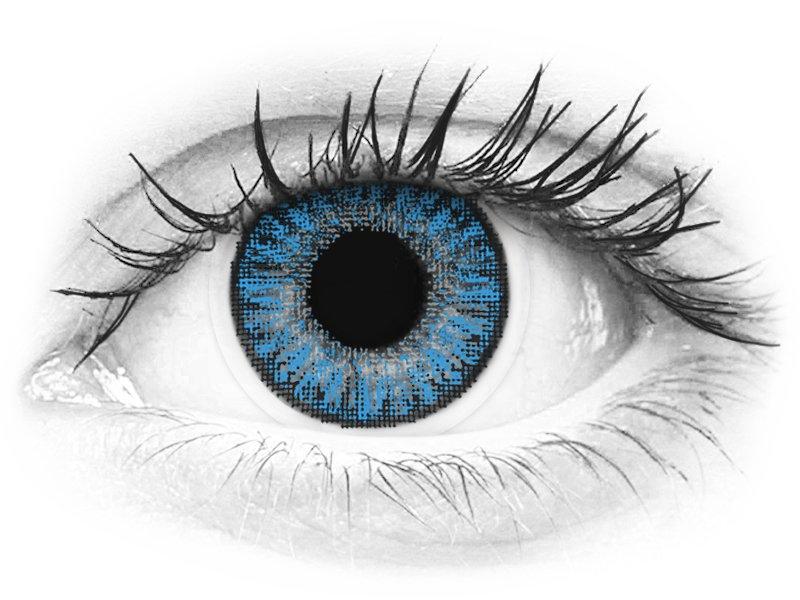 TopVue Color daily - Sapphire Blue - Lente me Ngjyre & Optike (10lente)