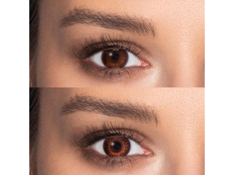 TopVue Color - Brown - Lente me Ngjyre & Optike (2lente)