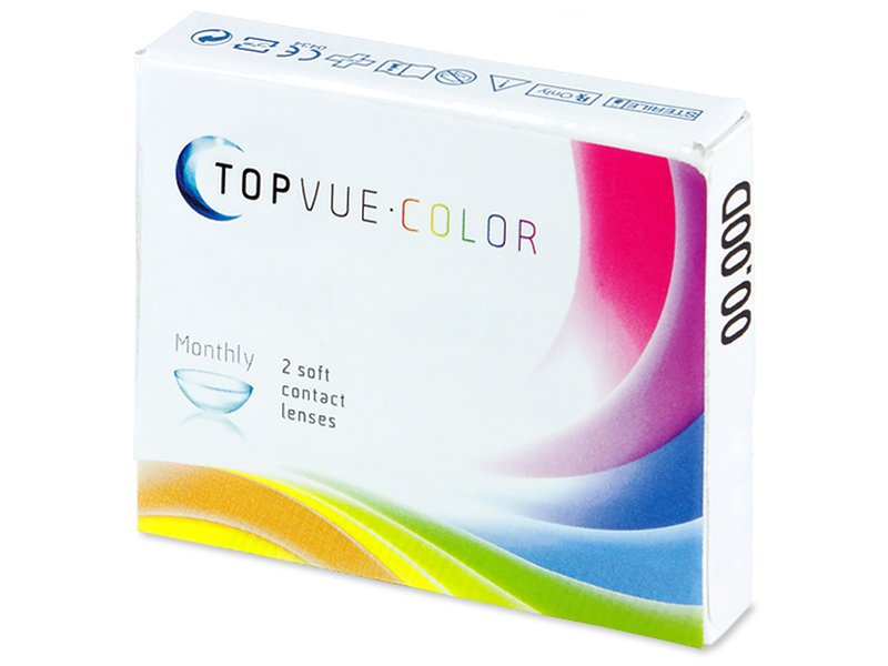 TopVue Color - Brown - Lente me Ngjyre (2 lente) - Previous design