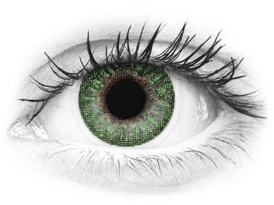 TopVue Color - Green - Lente me Ngjyre (2 lente)