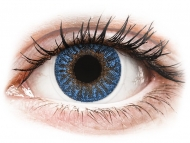 Lente kontakti Blu - jo optike - TopVue Color - True Sapphire - Lente me Ngjyre (2 lente)