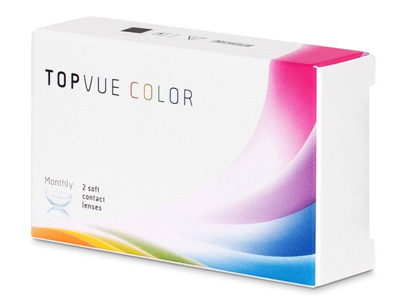 TopVue Color - Turquoise - Lente me Ngjyre (2 lente)
