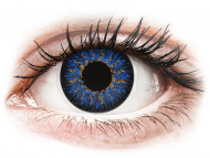 Lente me ngjyrë me numër - ColourVUE Glamour Blue - Lente me Ngjyre & Optike (2lente)