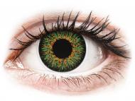 Lente me ngjyrë me numër - ColourVUE Glamour Green - Lente me Ngjyre & Optike (2lente)