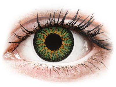 ColourVUE Glamour Green - Lente me Ngjyre & Optike (2lente)